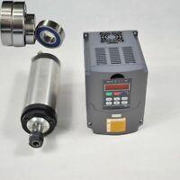 1.5KW ER16 Water CNC Wassergekühlter Spindel Motor+VFD FREQUENZUMRICHTER VSD