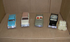 4 1955 Ford promo promotional models SUNLINER,Buckskin Wagon,VICTORIA & T Bird