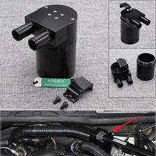 Hot 500ML Racing Oil Catch Tank Can Reservoir Black For BMW N54 335 335i 535i