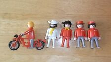 Playmobile Vintage Geobra Figuras + Bicicleta 1974 Joblot