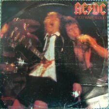 "AC/DC ""IF YOU WANT BLOOD YOU'VE GOT IT"" AUSTRALIAN ALBERT PRODUCTIONS BLUE LABEL"