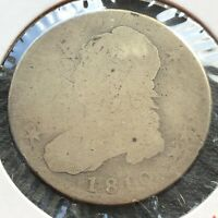 1810 Capped Bust Half Dollar 50c Lowball #4400