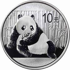 China 10 Yuan 2015 Panda 1 Oz Silber Anlagemünze