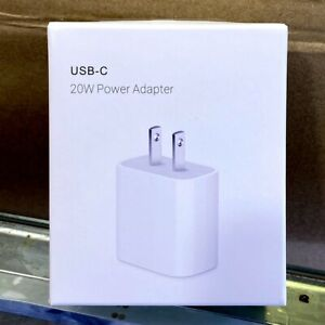 20W Fast Wall Charger USB-C Power Adapter PD Cable For iPhone 12 11 XR 8 Pro Max