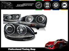 FEUX AVANT PHARES LPVW20 VW GOLF 5 10.2003 2004 2005 2006 2008 2009 GTI NOIR