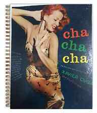 Xavier Cugat Cha Cha Cha  50s lounge cheese RARE Album Cover Notebook vintage