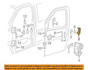 GM OEM-Outside Exterior Door Handle Left 25942271