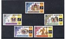 Dominica 25 Aniversario Coronación Serie del año 1977 (DE-952)