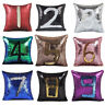 Cushions Covers Mermaid Sequin Pillow Reversible Glitter Case Throw Home Decor