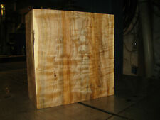 FIGURED WESTERN BIG LEAF MAPLE WOOD TURNING LUMBER 9-3/4 x 9-3/4 x 4 BOWL BLANK