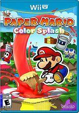 Nintendo Wii U Paper Mario Color Splash