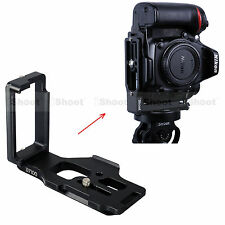 Separable Quick Release Plate Camera Bracket Holder f Ballhead Nikon D7100 D7000