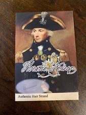 Horatio Nelson Hair Strand Lock Piece Speck Relic Historic unsigned 1st Viscount