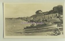 iw0020 - Isle of Wight - A Crowded Colwell Bay in Freshwater c1950s - postcard