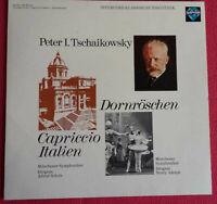 Tschaikowsky / Capriccio Italien / Dornröschen LP Vinyl 1972
