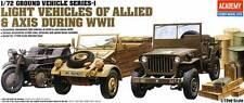 Academy 1/72 clair Véhicules de Allied & Axe Pendant 2nd guerre mondiale #13416