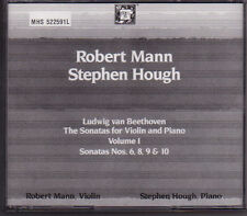 Robert Mann Stephen Hough Beethoven Sonatas For Violin & Piano Vol 1 2 CD