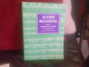 Score Reading Book II Musical Form-Roger Fiske Paperback English Classical Music