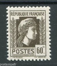 FRANCE 1944 timbre 634, Marianne d' Alger, neuf**