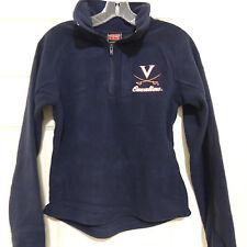 VIRGINIA 1/4 Zip Fleece Jacket New Size Womens L