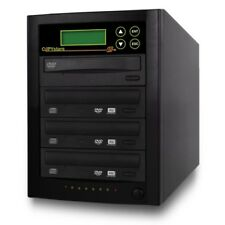 CD DVD Duplicator 1-3 Sony/LG 24X burner Expandable to 4 copy tower