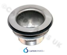 """WASTE OUTLET FITTING FOR STAINLESS STEEL COMMERCIAL CATERING SINKS 42mm 1 1/2"""""""