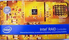 Intel SRCSAS144E 8-Port SATA/SAS PCI-E RAID Controller New Retail Box