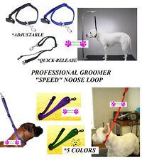 Speed QUICK RELEASE Noose Adjustable RESTRAINT LOOP Dog Grooming Table Arm,Bath