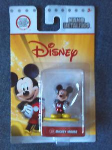 Disney Pixar Mickey Mouse Figure Nano Metalfigs 100% Die-Cast 2017