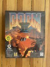 DOOM 2 CD (PC) Big Box Sealed In Original Plastic