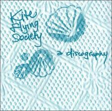 KITE FLYING SOCIETY A Discography CD NEW SEALED screamo Saetia Cobra Starship