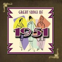 GREAT SONGS OF 1951 ~ 26 Various Artists ~ CD Album ~ Like New ~ FREE POST!