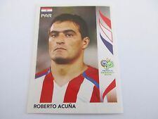 Sticker PANINI Fifa World Cup GERMANY 2006 N°120 Paraguay Roberto Acuna