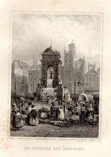 PARIS ANCIEN & HISTORIQUE / LA FONTAINE DES INNOCENS