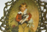 Silk Vintage Picture+Frame Brass Italy