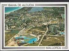 Spain Postcard - Aerial View of Bahia De Alcudia, Mallorca  LC5276