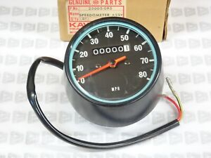 Kawasaki NOS NEW 25005-095 Speedometer Assy MPH G5 KE KE100