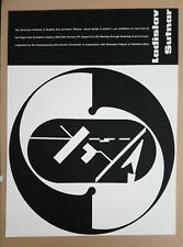 Ladislav SUTNAR Visual Design in Action Poster Modernist Information Graphic