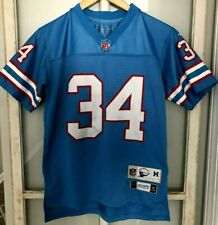 Earl Campbell #34 Houston Oilers NFL Throwback Reebok Jersey - Size Youth Medium