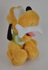 "BABY Pluto w/ Bib MICKEY MOUSE'S Pet Dog WALT Disney World PLUSH Furry 9"" Bone"