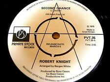 "ROBERT KNIGHT - SECOND CHANCE   7"" VINYL PROMO"