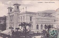 SAN REMO - Casino Municipale 1907