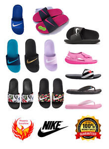 🎁SALE🎁NEW Nike Kids Girls Boys Slippers Slide Sandal Flip Flop 11C to 7Y