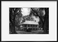 Photo: Octave J. Darby home, built in 1813, New Iberia, Iberia Parish, Louisiana
