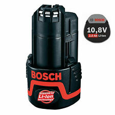 Genuine Bosch GBA 10.8V 2.0Ah Li-ion Battery [Bulk type][no retail pack]