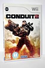 CONDUIT 2 SEGA ITALIANO NINTENDO Wii TRIANGOLO BLU USATO OTTIMO STATO FR1 57179