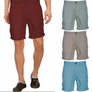 MATALAN Mens Cargo Shorts Casual Cotton Knee Summer Regular Half Pants Bermuda