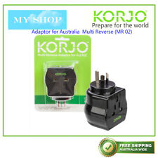Korjo Adaptor Multi Reverse Worldwide to Australia