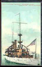 pc5258 postcard US Battleship Kersearge MOBSC
