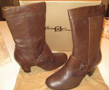"BORN Crown Leather Boot ""Kale"" Dark Brown size  10 M NIB"